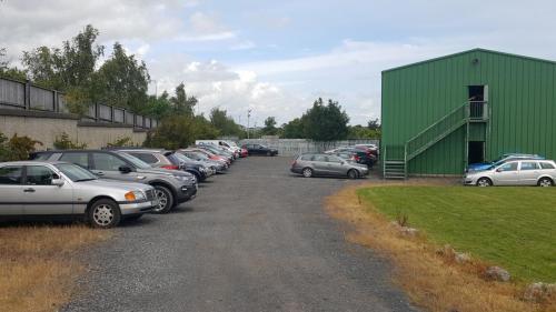 Club house and car park